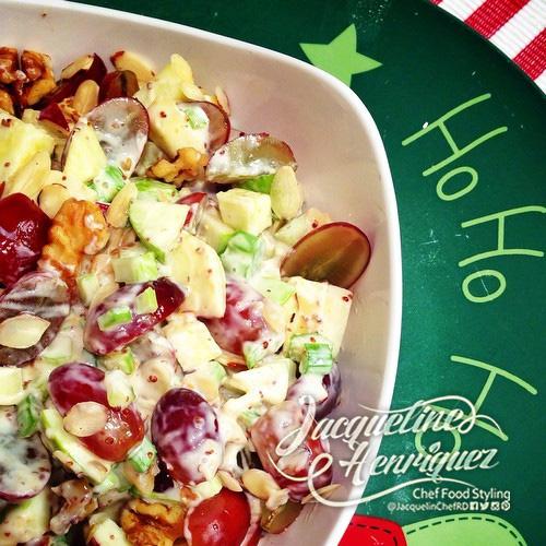 Ensalada fresca de navidad - Ensalada fresca de pasta ...