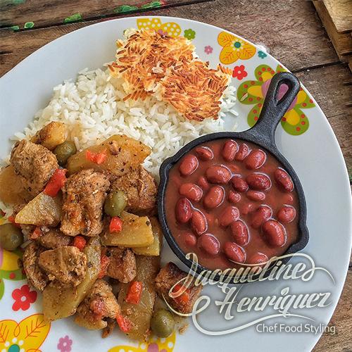 Carne de cerdo con tayota - Como cocinar alubias rojas ...
