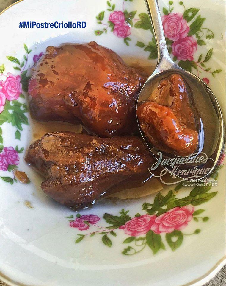 Dulce de cajuil en almibar for Chambre de guandules